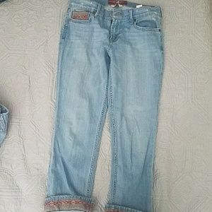 Woman's Jeans with print detail